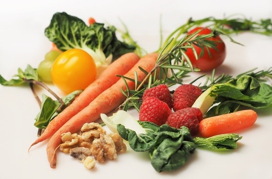 Healthy vegetables to make healthy food.