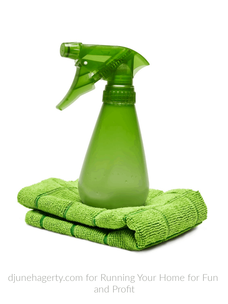 organic cleaner with bamboo cleaning towel