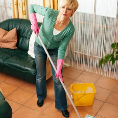 Spring Cleaning for the Slow Moving, Lackadaisical, or Ill Homemaker, Part VII